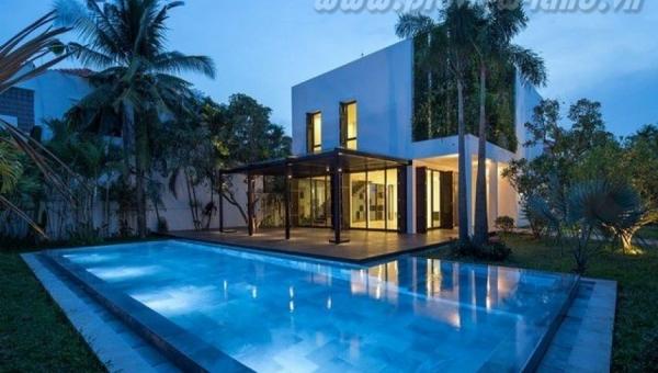 Villa Thao Dien Quận 2 Khu Compound 822m2 đất