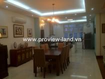 Cho thuê biệt thự Sài Gòn Pearl nội thất đẹp