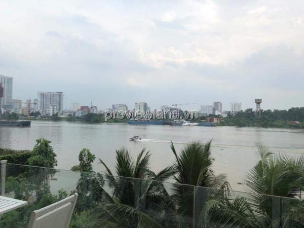 Bán biệt thự Thảo Điền mặt sông Sài Gòn diện tích 1400m2