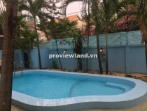 Villa for rent in Thao Dien 500sqm 2 floors 5BRs with swimming poool