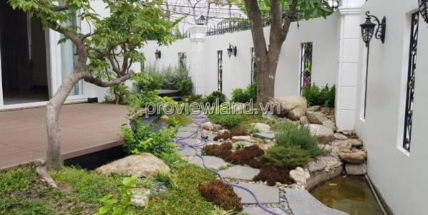 Biệt thự cho thuê DT 300m2 khu Compound Thảo Điền