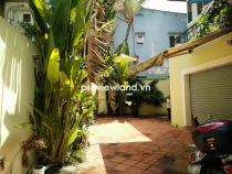 House for rent in District 2 on Quoc Huong 200sqm 3BRs front yard and garage