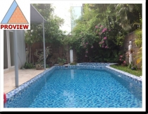 Villa for rent in Thao Dien 2 swimming pool 400m2