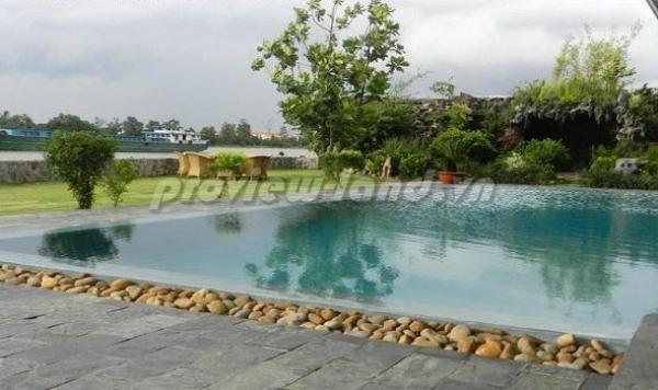 Bán biệt thự bờ sông Saigon Thảo Điền quận 2 DT 1260m2