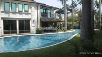 Biệt thự nằm khu Compound Thảo Điền gần sông Sài Gòn 900m2 diện tích 5PN
