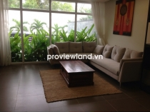 Mini villa for sale in Midpoint Compound Thao Dien 200sqm 3BRs shared pool well furnished