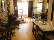 Cho thuê căn hộ 108m2 3PN The Prince tầng cao view thành phố có ban công cây xanh