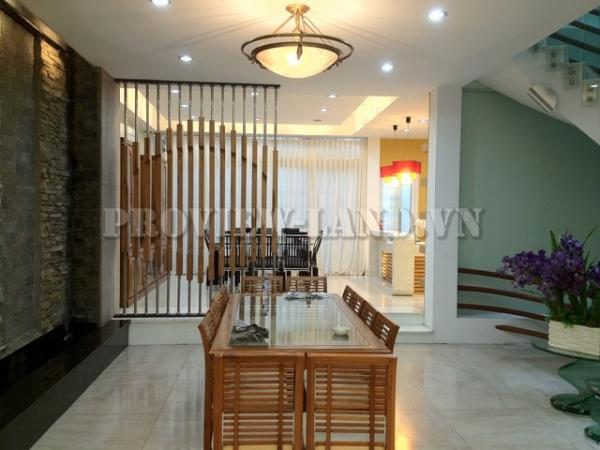Cho thuê biệt thự cao cấp villa Saigon Pearl 7x21m thiết kế đẹp