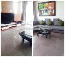 Cho thuê căn hộ tầng cao Hoàng Anh Riverview 4 PN nội thất cao cấp