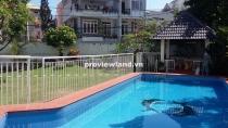 Villa cho thuê quận 2, đường nội bộ 700m2 4 phòng ngủ