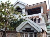 Villas Thao Dien for rent in District 2, area with 4 bedrooms