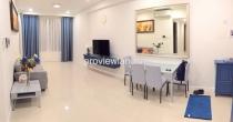 Cho thuê căn hộ DT 80m2 3PN cửa sổ lớn ICON 56 cần view nhìn sông Bến Nghé
