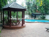 Villa for rent on Ngo Quang Huy Street D2