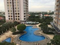 Cho thuê căn hộ 186m2 3PN XI Riverview tầng thấp nội thất cơ bản view hồ bơi