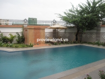 Villa for rent in District 2 at Kim Son Area 650sqm 5BRs pool 2 floors with Saigon riverview