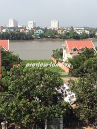 Land for sale riverside frontage on Nguyen Van Huong street