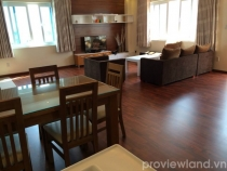 Luxury serviced apartment for rent on Tong Huu Dinh with premium standards