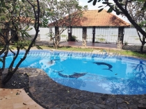 Villa for rent in compound Phu Tuong big pool and beautiful garden
