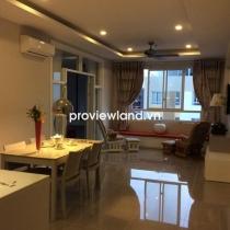 Bán căn hộ 88m2 - 2PN nội thất đẹp Tropic Garden tầng cao view sông Sài Gòn