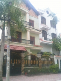 Villa for rent on Tran nao Street, District 2, area 8x16m, 1 ground floor and 2 floors
