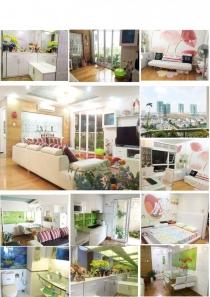 Bán căn hộ cao cấp 106m2 3PN An Khang tầng cao trang bị đầy đủ nội thất tiện nghi