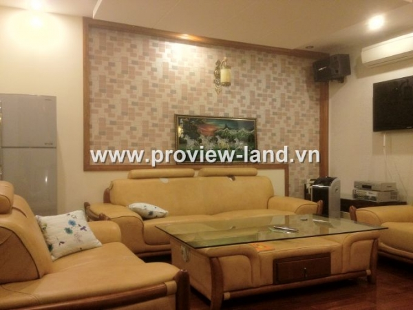 Villa Sài Gòn Pearl cho thuê gồm 5PN - 6WC