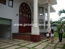 Villas for rent in Thao Dien District 2, Nguyen U Di