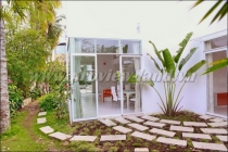 House for rent on Tran Nao with 3 bedrooms, nice garden
