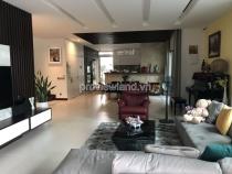 Bán biệt thự Riviera Quận 2 1 trệt 2 lầu diện tích 360m2 sổ hồng đầy đủ nội thất