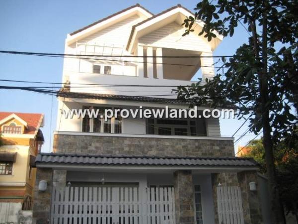 Bán biệt thự Thảo Điền quận 2 khu vực an ninh dân trí cao