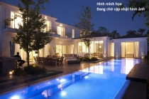 Villa for sale on Xuan Thuy 660sqm 5BRs garden pool and garage prime location car alley