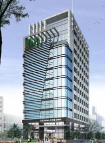 Bán cao ốc văn phòng mặt tiền Sương Nguyệt Ánh quận 1 dt 10x40m 1 Hầm - 6 lầu