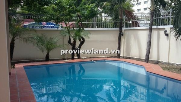 Cho thuê biệt thự Thảo Điền khu Compound Bảo Tiến quận 2 4PN