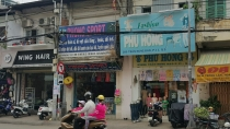 House for sale in front of Tran Hung Dao B District 5 4x20m suitable for open shop