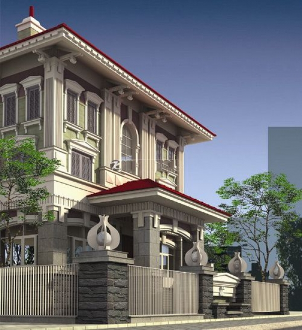 Bán biệt thự Quận 3 MT Phùng Khắc Khoan 12x25m