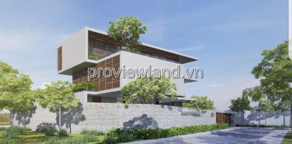 Bán biệt thự Thảo Điền lô góc 2 mặt tiền 5PN 460m2