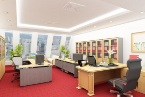 Office building for sale in district 1 on Trần Hưng Đạo, 16x22m