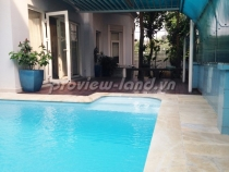 Thao Dien villa for rent 450 sqm large pool