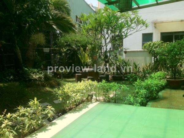 near sai gon river Villa Riviera for rent in District 2