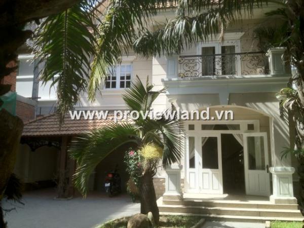 Sell villaThao Dien, District 2 area Conpound