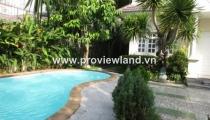 Villa for rent on Quoc Huong Street Thao Dien Ward