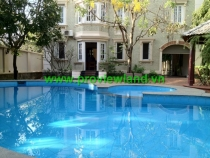 For rent Villa Thao Dien on Ngo Quang Huy Street